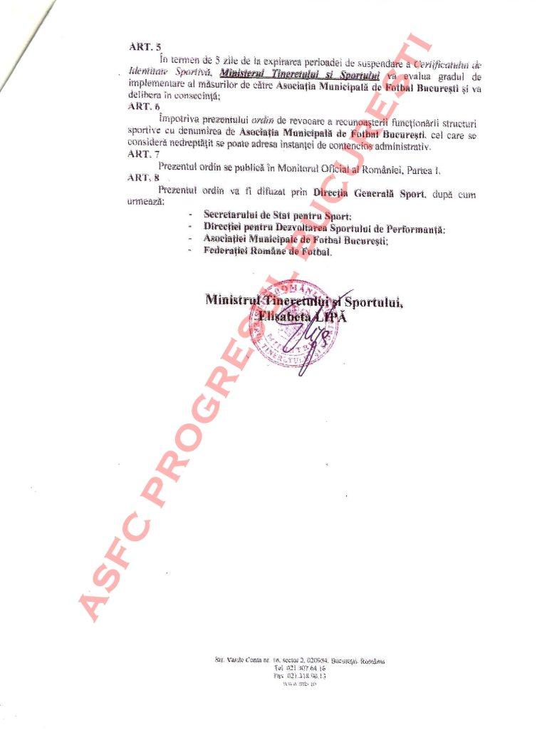 PAGINA 2 768x1024 Scandal imens între AMFB şi Minister