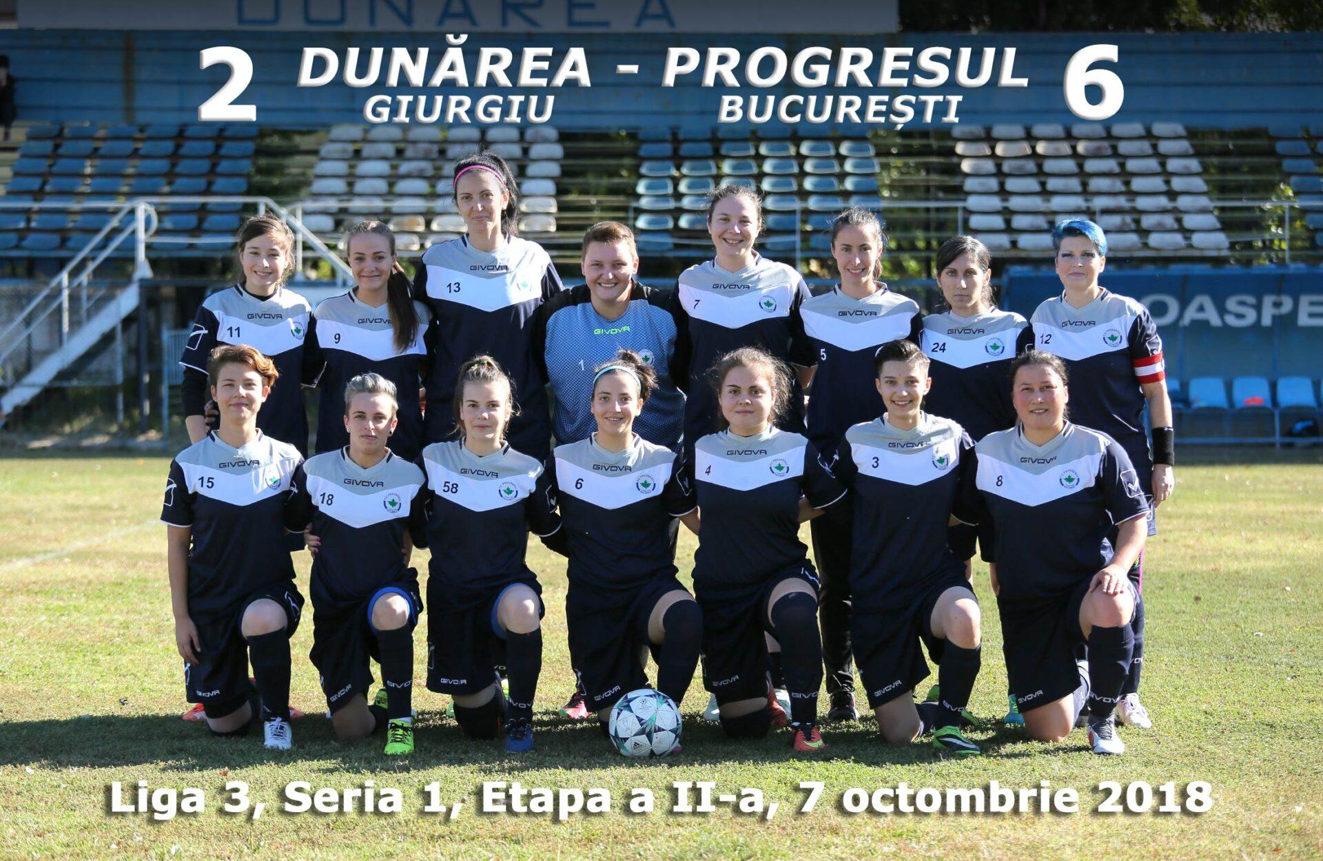 FC Progresul București la Giurgiu